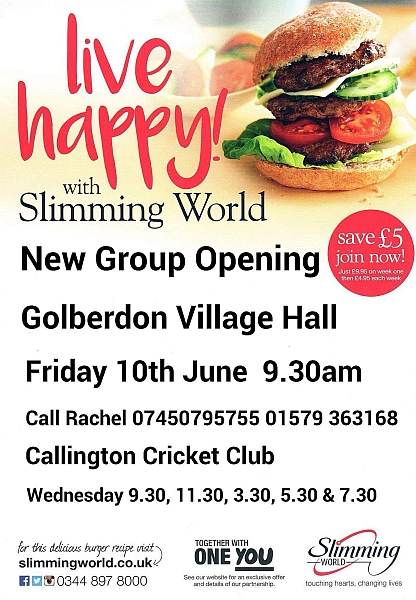 Slimming World Golberdon
