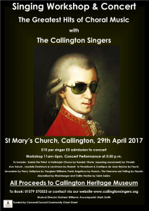 Singing Workshop and Concert @ St Marys Church   Callington   England   United Kingdom