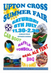 Upton Cross Summer Fair @ Jubilee Field, opp school | Upton | England | United Kingdom