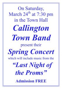 Town Band Concert @ The Town Hall | Callington | England | United Kingdom