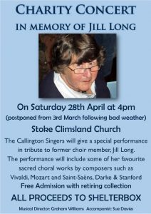 Jill Long concert @ Stoke Climsland church | Stoke Climsland | England | United Kingdom
