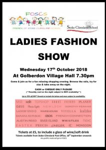 Ladies Fashion Show @ South Hill Parish Hall | Golberdon | England | United Kingdom