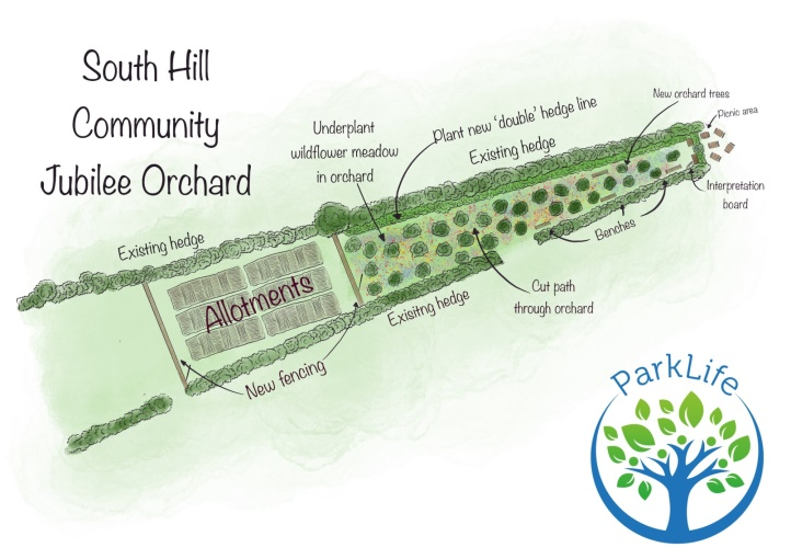 South Hill Community Jubilee Orchard